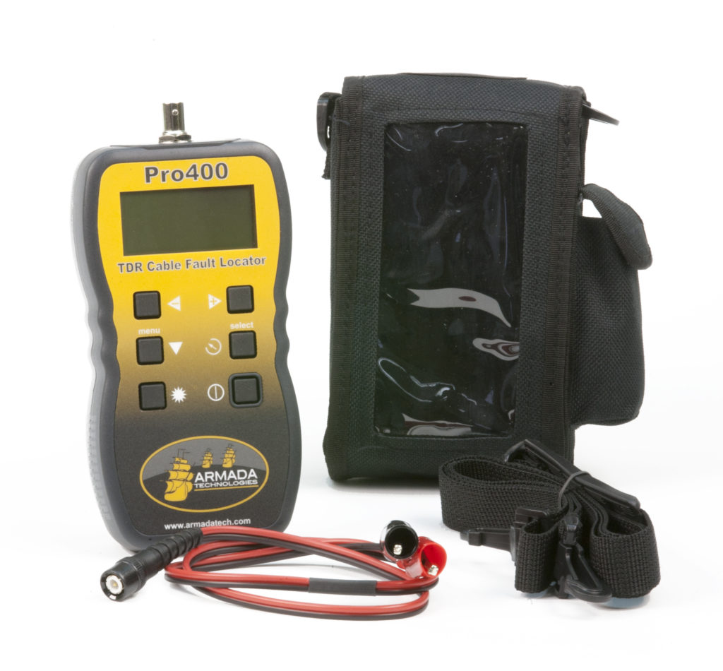 Pro400™ Handheld Graphical TDR Cable Fault Finder Image