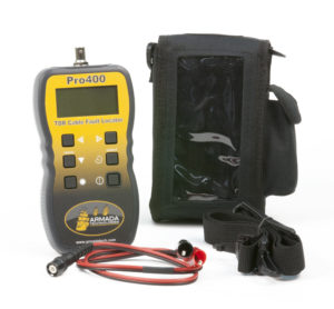 Pro400 Handheld Graphical TDR Cable Fault Finder Image