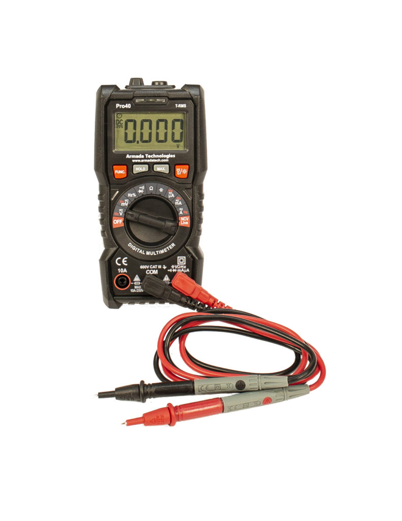 Pro40 True-RMS Digital Multimeter Image